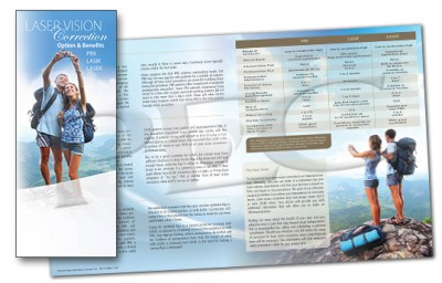 Laser Vision Correction, Options & Benefits Brochure