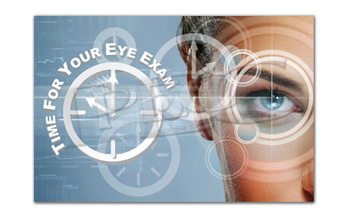 Eye Exam Appointment Card